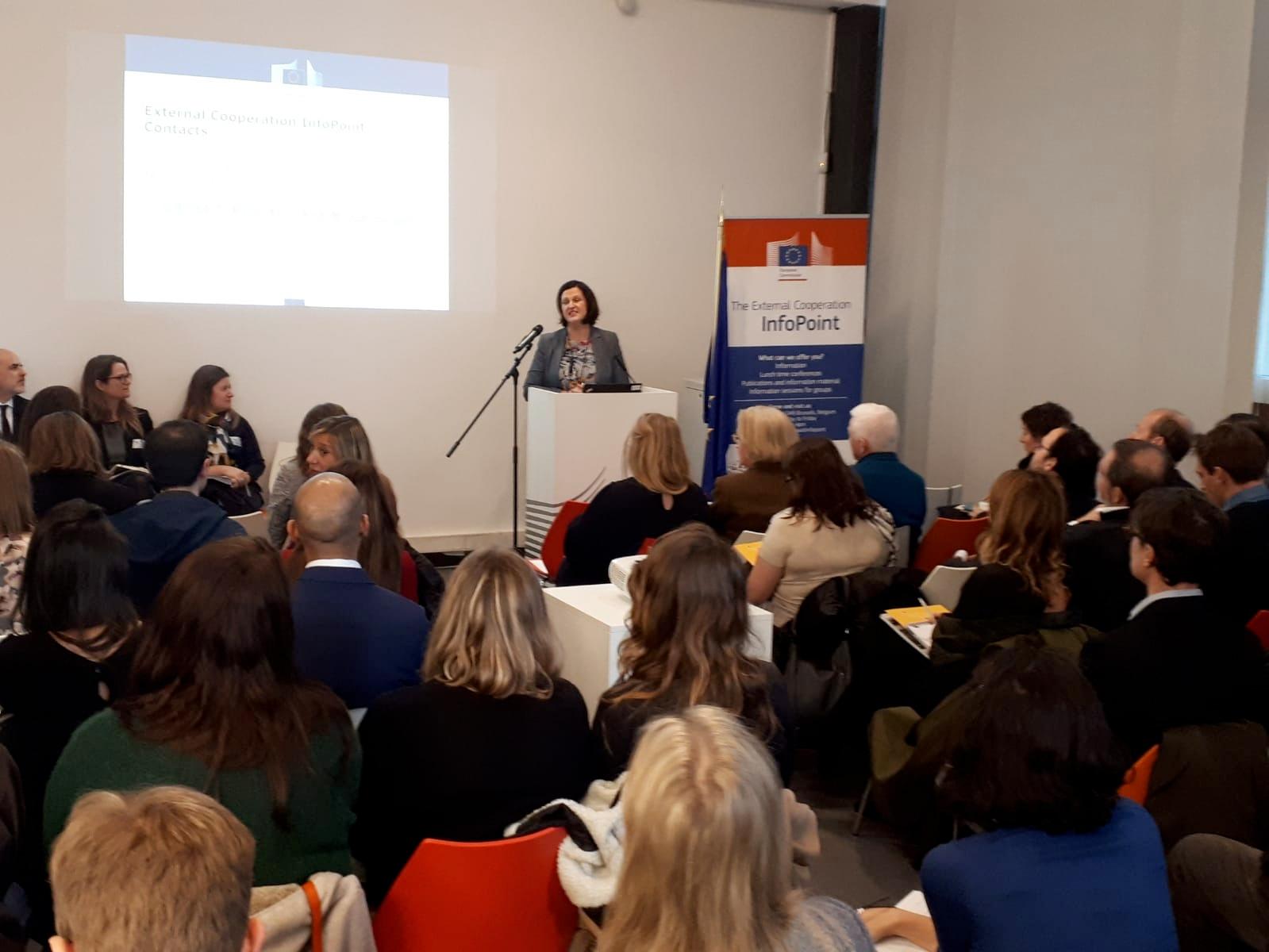 Jolita Butkeviciene, directora para América Latina y el Caribe en la Dirección General de Cooperación Internacional y Desarrollo de la Comisión Europea.