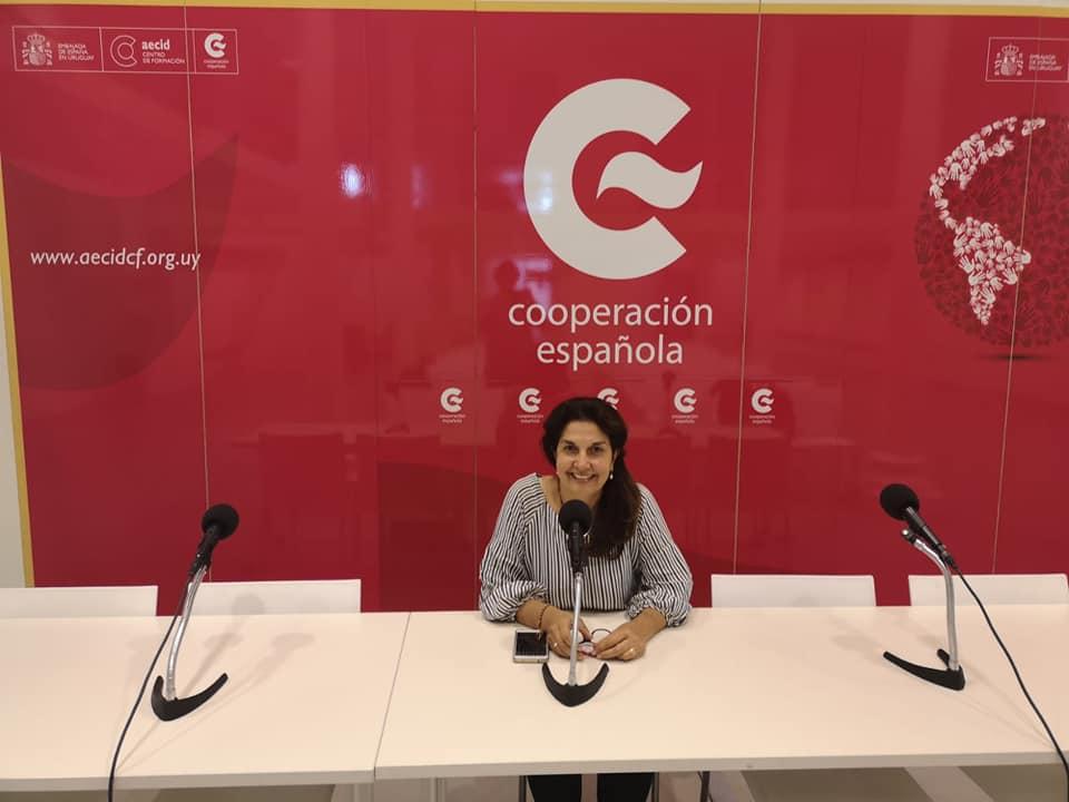 Lucy Larrosa, coordinadora del proyecto Mirada Ciudadana