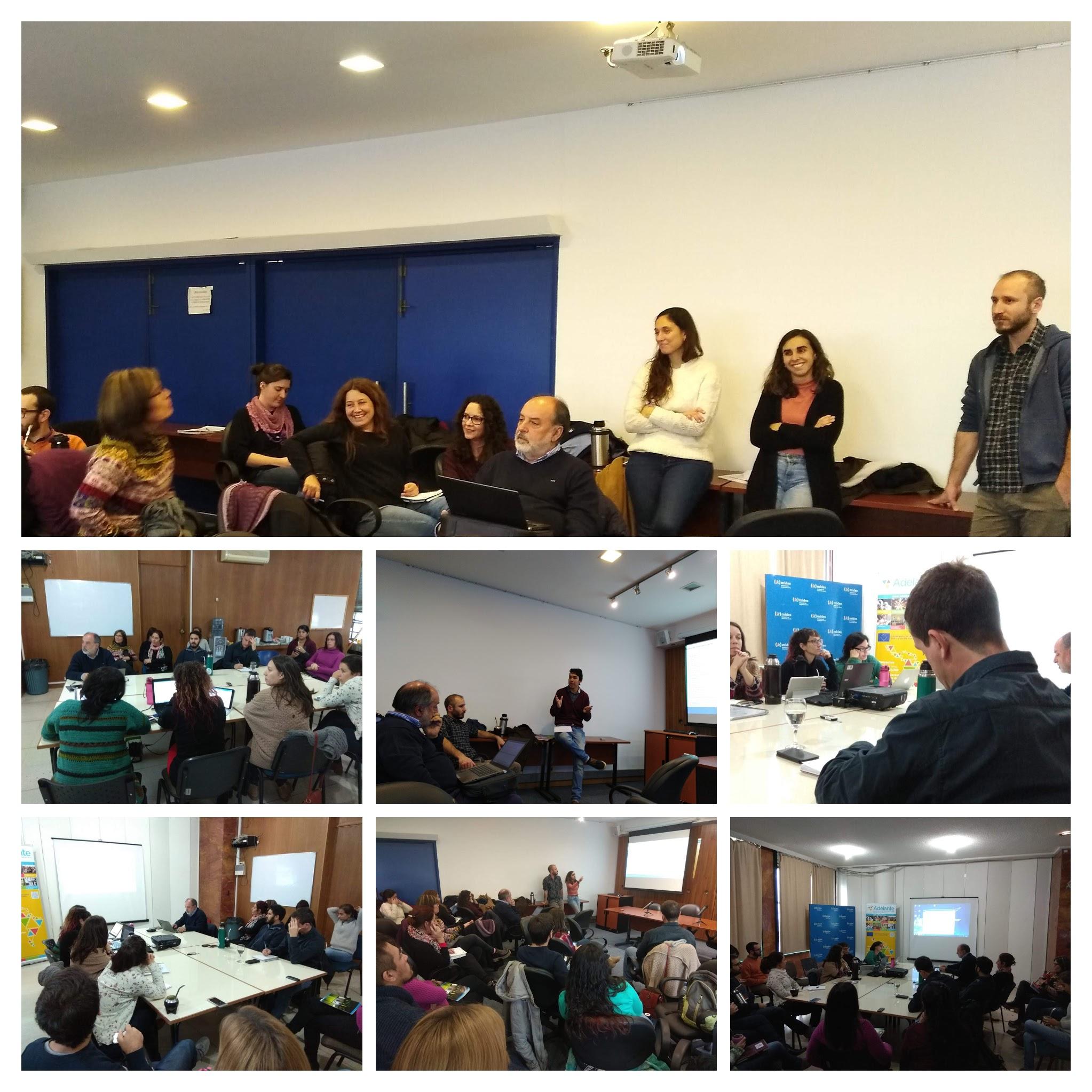Uruguay: Mesas de trabajo con equipos del Ministerio de Desarrollo Social