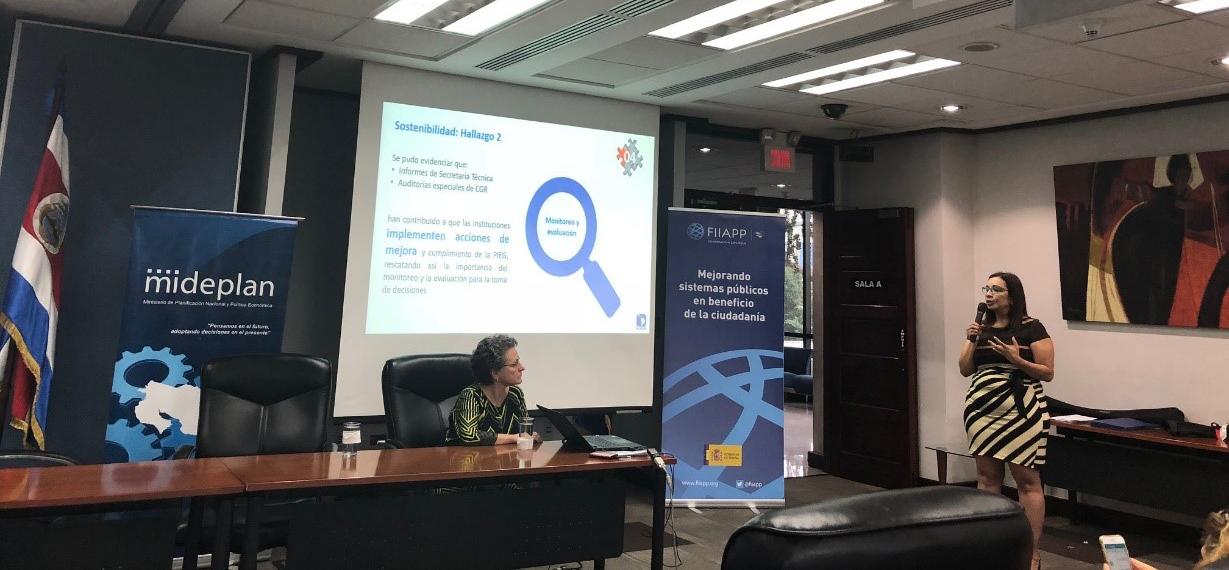 Presentación de FLACSO Costa Rica sobre los hallazgos y recomendaciones emanadas de la evaluación de la PIEG