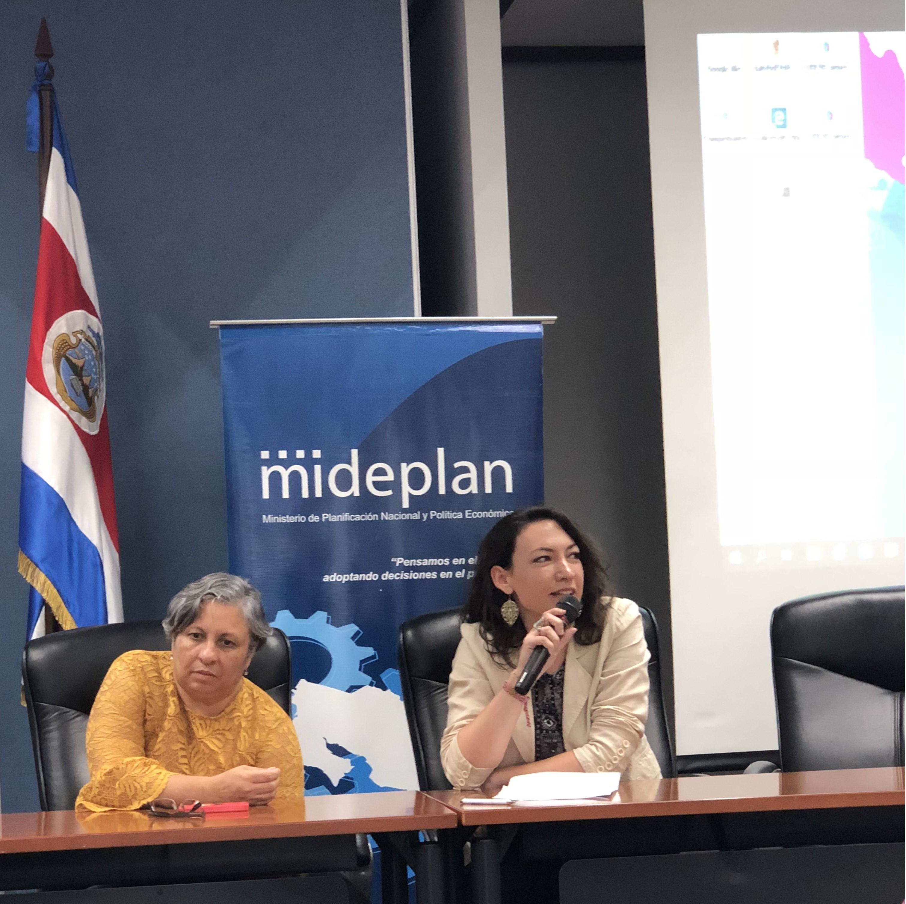 Área de genero de EUROsociAL e INAMU definieron agenda para la actualización de la política de genero - PIEG 2018-2030 haciendo uso de la evaluación impulsada por EVALÚA.