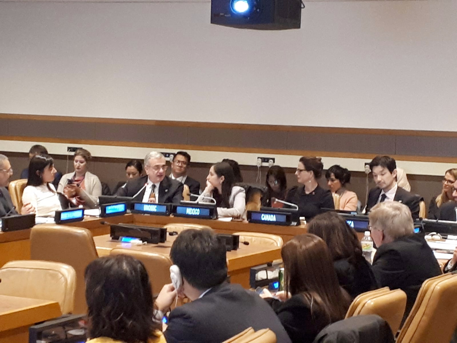 Durante un evento paralelo del GSSD2018 organizado por la Asociación Mundial para el Desarrollo Eficaz de Cooperación (GPI): La Cooperación Triangular en la era de la Agenda 2030: contribuciones al BAPA40+