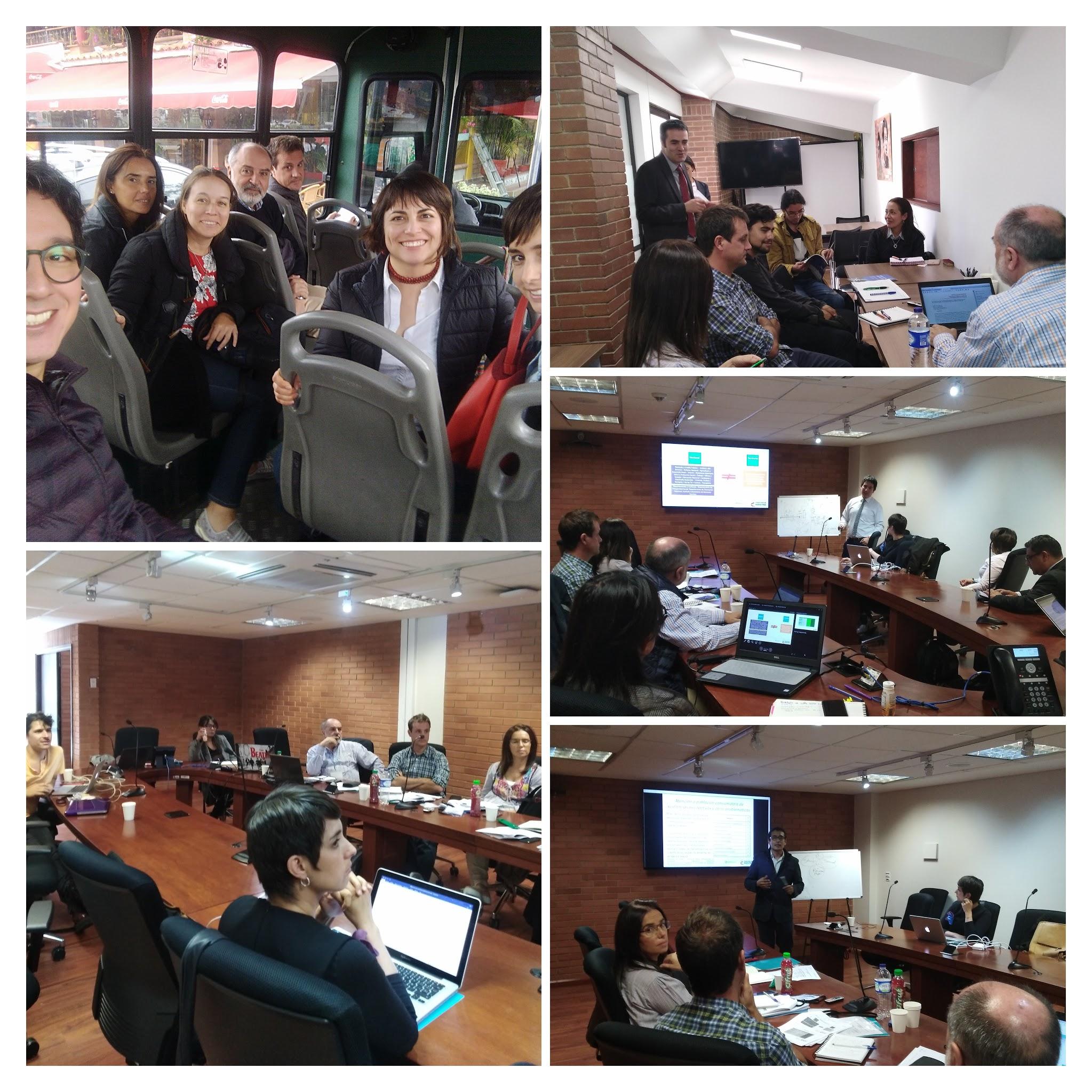 Colombia: Reuniones de trabajo con el equipo de la Oficina de Promoción Social del MINSALUD.