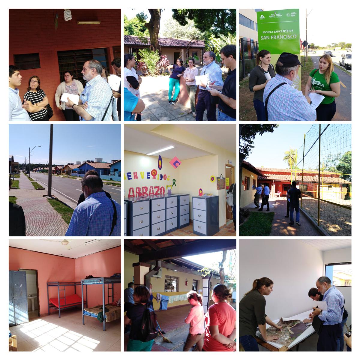 Paraguay: Recorrida por centros de atención del Instituto de Bienestar Social y visita al Barrio San Francisco