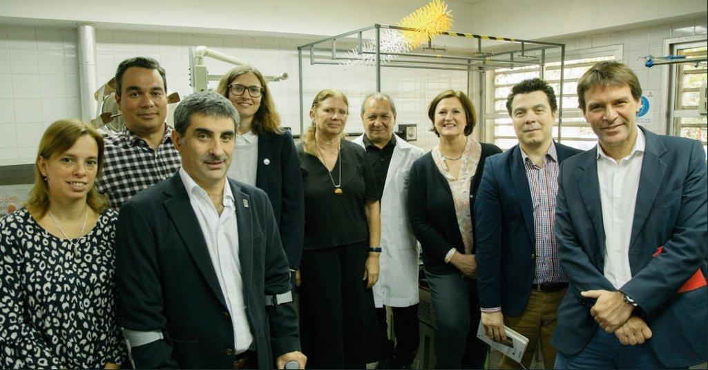 Agentes diplomáticos de la Comisión Europea visitaron el Proyecto Seda