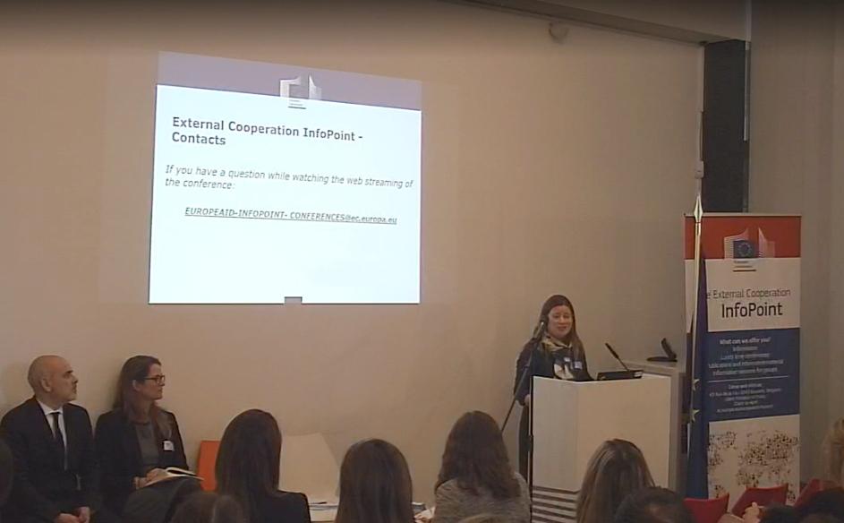 Ana Fernandes, jefa de la unidad de Foresight Outreach and Policy Reform en el Directorado de la Cooperación para el Desarrollo (DCD)