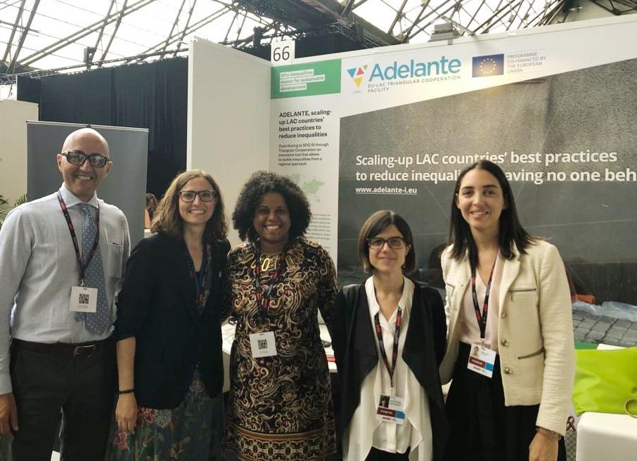 Con el equipo de Cenpromype SICA, socio estratégico de ADELANTE a través del proyecto EDEM.