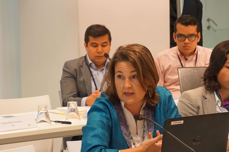 Marta Monterrubio del proyecto EVALÚA - FIIAPP