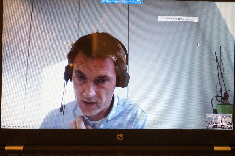 Sébastien Mairesse, gestor financiero del Programa ADELANTE en la Unidad de Finanzas y Contratos (F3) de DEVCO