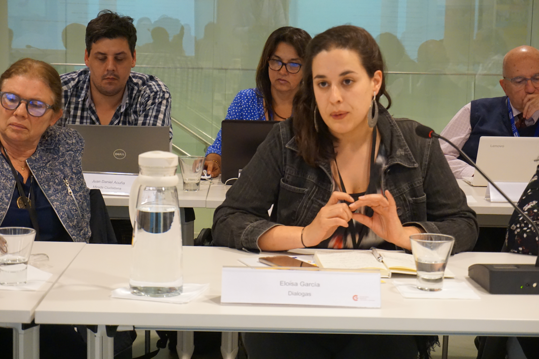 Eloisa García - Proyecto DIALOGAS - AGCID
