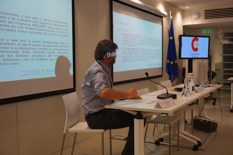 Javier Gavilanes - Jefe de equipo de la Asistencia Técnica para ADELANTE