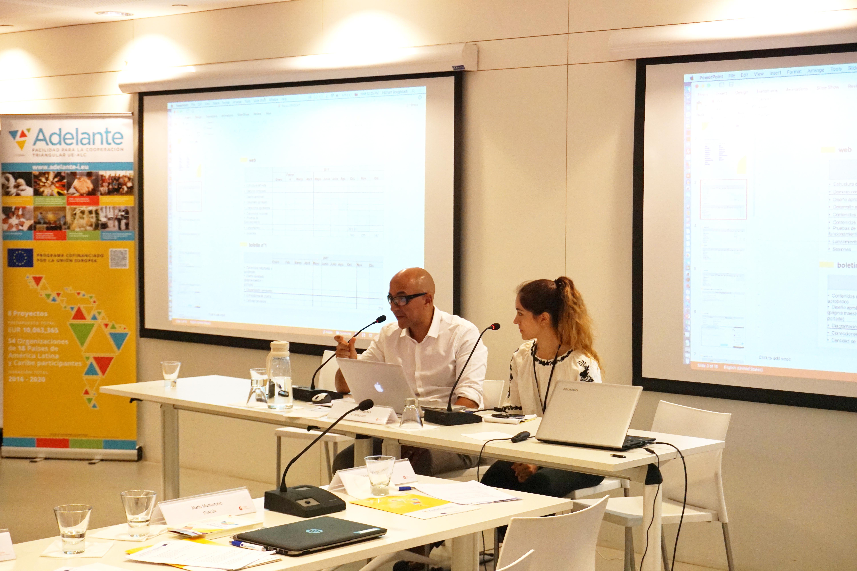 Rocío Pujol - Proyecto SEDA - INTI y Hicham Boughdadi - AT ADELANTE