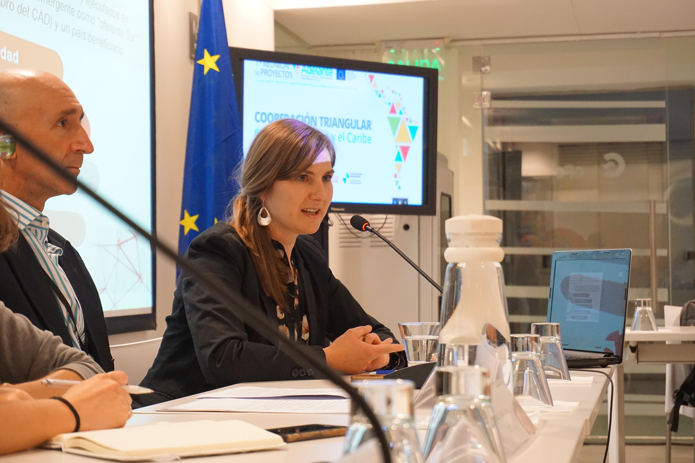Audrey Marie Gramcko, coordinadora de Capacity Development del Fondo Regional para la Cooperación Triangular en América Latina y Caribe de la GIZ.