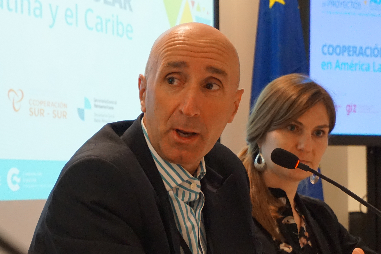 Victor Navalpotro, coordinador general de la Oficina Técnica de Cooperación para Argentina, Brasil, Chile y Uruguay de la AECID