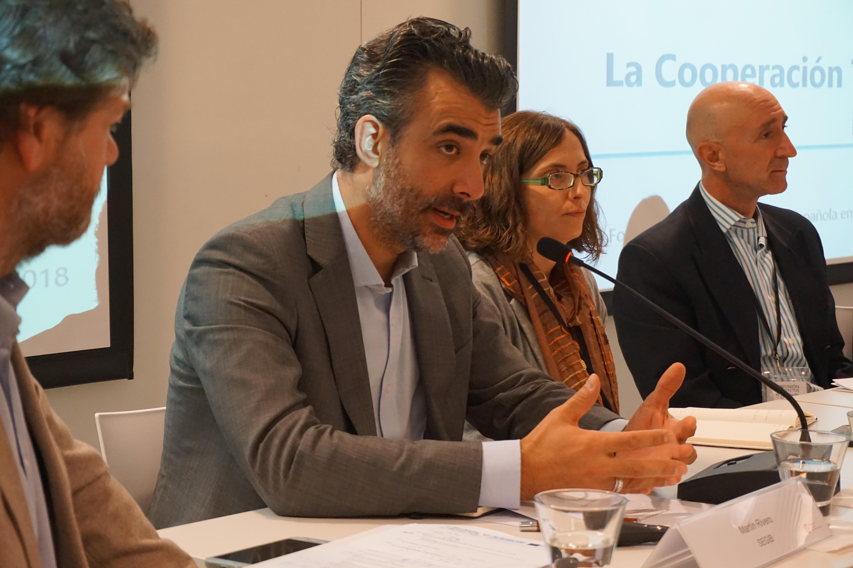 Martín Rivero - coordinador del Área de Cohesion Social y Cooperación Sur-Sur de la SEGIB