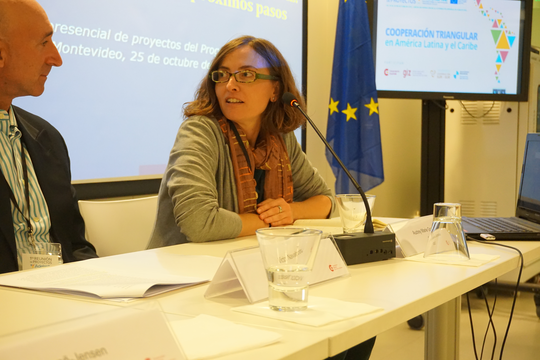 Leticia Casañ, coordinadora del Programa ADELANTE en DEVCO / Comisión Europea.