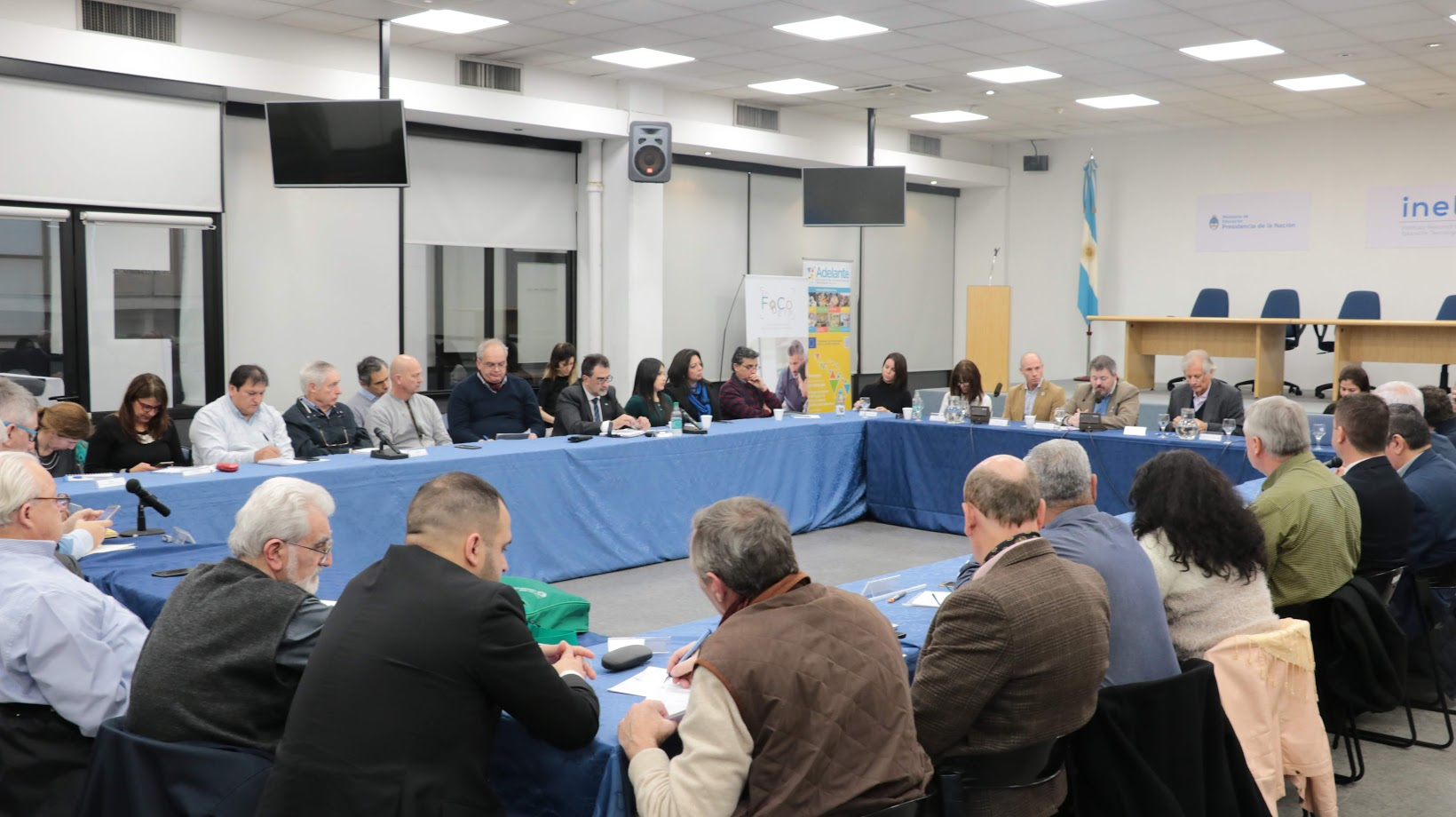 Los representantes provinciales discuten sobre el fomento de las competencias transversales y socioemocionales en la educación técnico profesional.