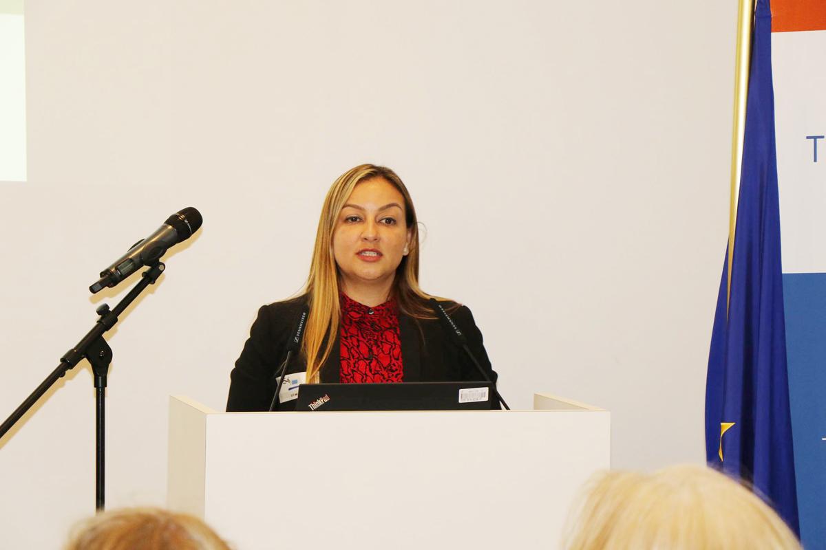 Jovanna Calderón Altamirano, directora técnica del proyecto Fortalecimiento de la Justicia Restaurativa