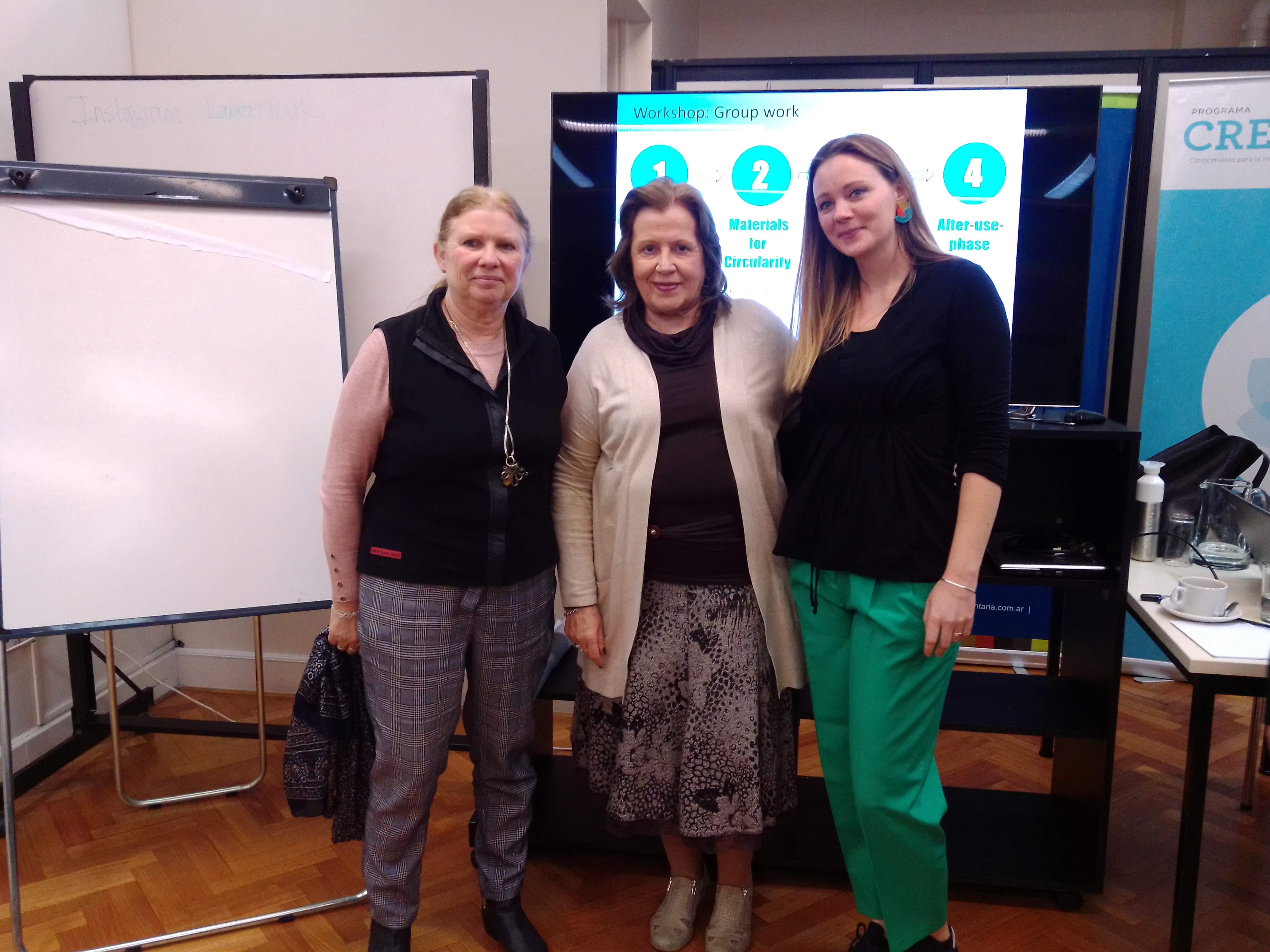 Se realizó el workshop transición hacia una economía circular en la CIAI, Argentina.