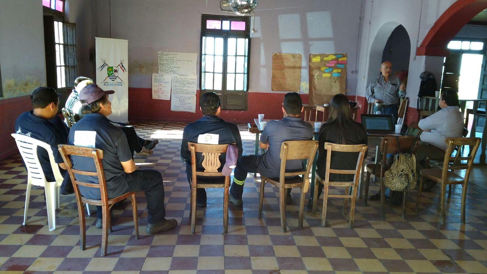 Taller de Fortalecimiento con el Equipo de Gestión y Funcionarios del Municipio Plácido Rosas