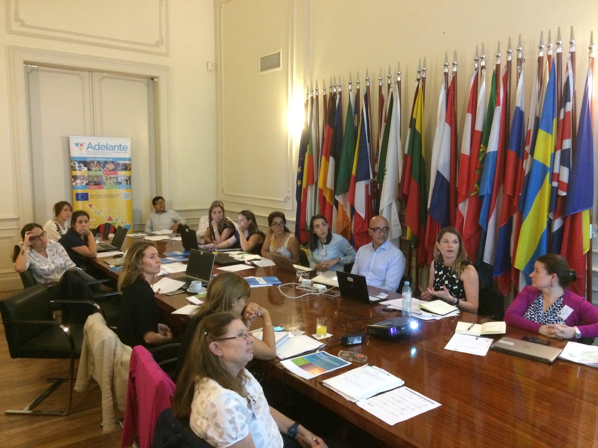 2ª reunión de proyectos del Programa ADELANTE en la Delegación de la Unión Europea en Argentina