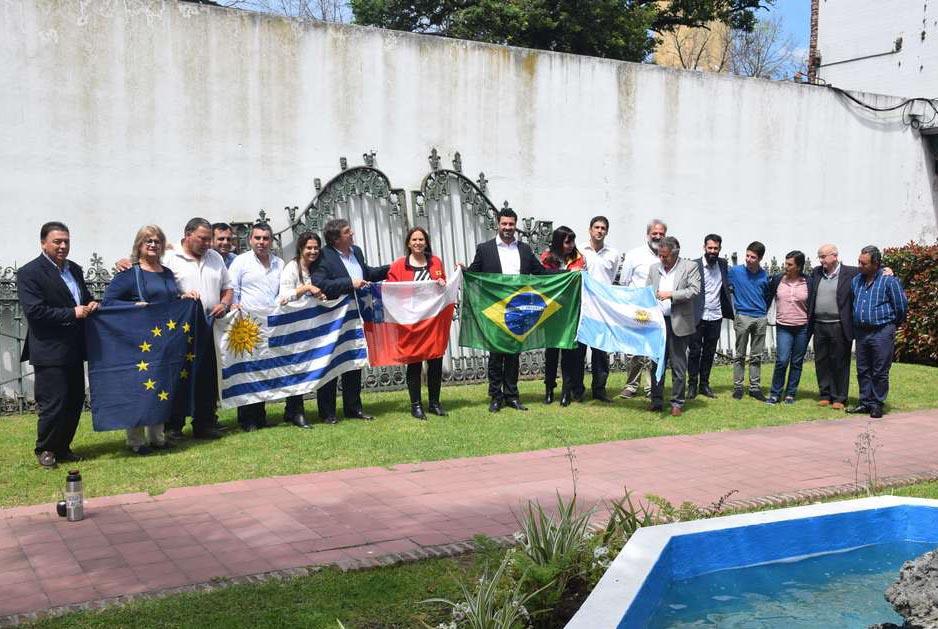 Municipios de Argentina, Chile, Brasil y Uruguay construyendo integración regional