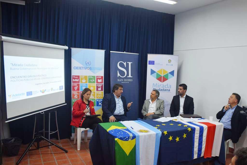Carolina Leitao, Sergio Botana, Arturo Flier, Adriano Castro y Eduardo Lucas