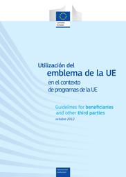 Utilización del emblema de la UE en el contexto de programas de la UE - ADELANTE - Cooperación Triangular - UE-ALC