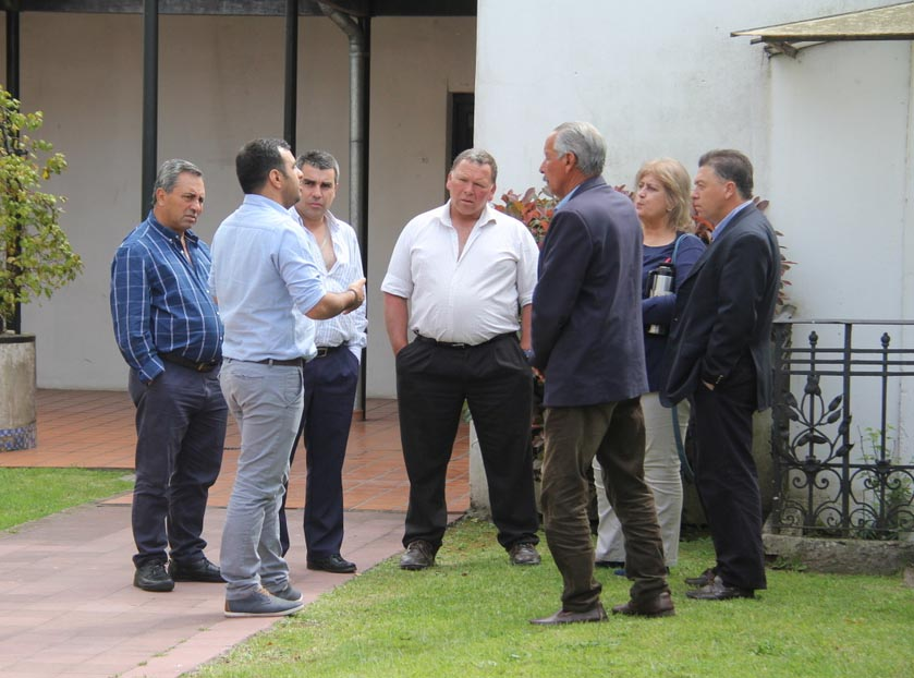 Alcaldes de Cerro Largo presentes en el 2do. Encuentro de Diálogo Politico