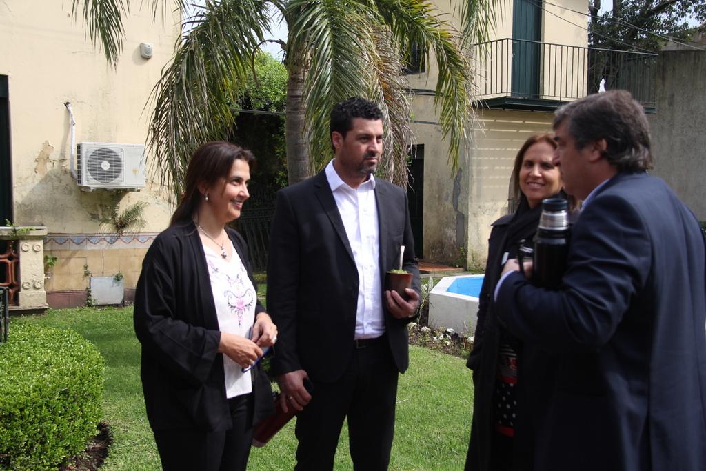 Coordinadora Mirada Ciudadana, Prefeito de Candiota, Alcaldesa de Peñalolén e Intendente de Cerro Largo