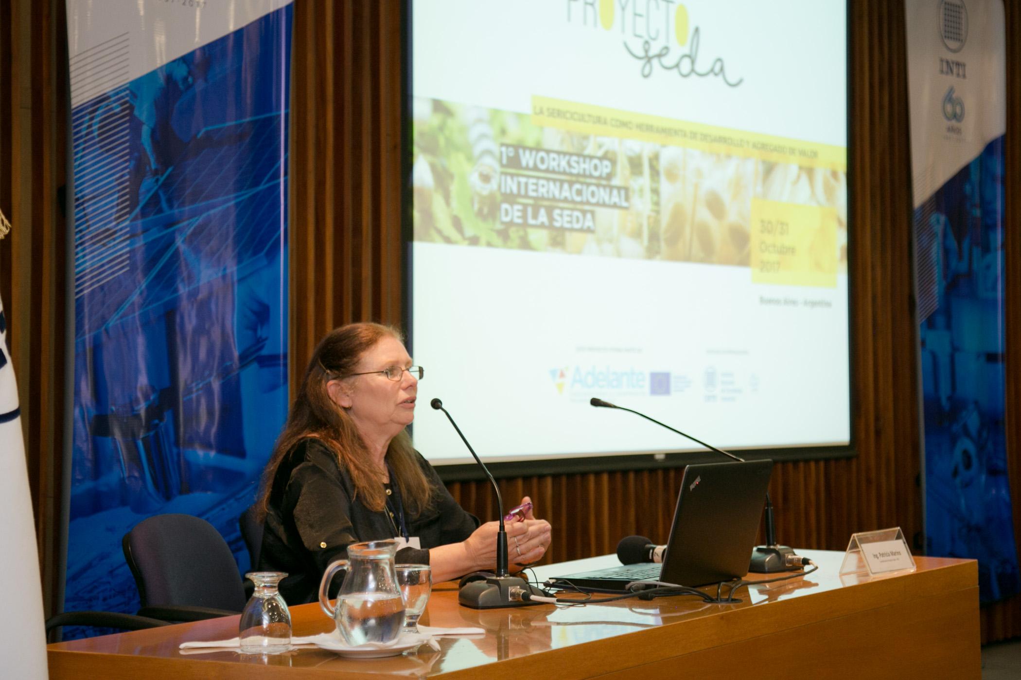 Ing. Patricia Marino, Directora del Proyecto Seda del INTI